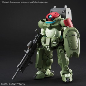 HGBD 1/144 Build Divers Grimoire Red Beret