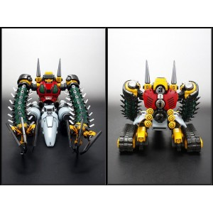 EXG-03RG Getter 3 & Getmachine Bear Repaint Version W/Gigantic Double Tomahawk