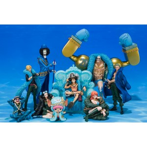 Bandai Figuarts Zero One Piece 20TH Anniversary Diorama: Luffy, Zoro, Sanji, Usopp, Nami, Chopper, Franky, Nico Robin, B