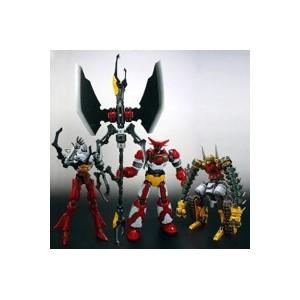 EXG-01R/02R/03RG Getter Robot & Getter Machine W/Gigantic Double Tomahawk