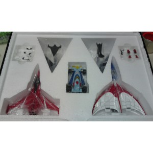 EXG-15 Gatchaman Machine Set A: G-1, G-2, Red Impulse