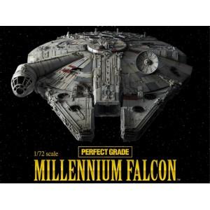 "Bandai Plamo PG 1/72 Star Wars Millennium Falcon ""Perfect Grade"""