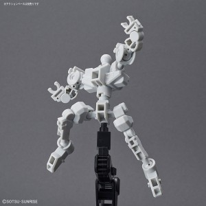 Bandai Gunpla Super Deformed SD Cross Silhouette Frame White
