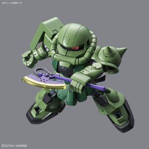 Bandai Gunpla Super Deformed SD Cross Silhouette Zaku II