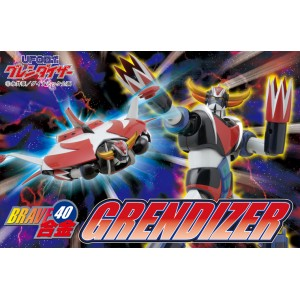 "Brave-40 UFO Robot Grendizer/Goldrake/Goldorak ""Exclusive Version"" W/TFO Anime Color"