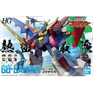 Bandai Plamo Nekketsu saikyo Go-Saurer 1/300 Gosaurer