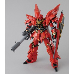 MG 1/100 MSN-06S Sinanju Anime Color