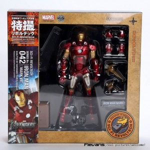 Kaiyodo Revoltech 042 Iron Man Mark 7 MK-VII