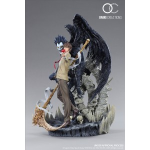 Oniri Creations 1/6TH Scale Diorama: Death Note Light & Ryuk Diorama