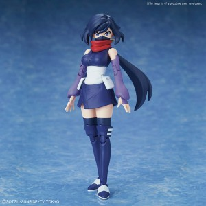 Bandai Plamo Figure Rise Gundam Build Divers Ayame