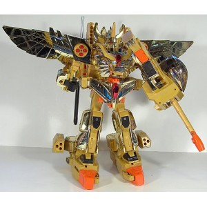 Takara(Sonokong) Brave of Gold Goldran: Great Goldran 3-Pack