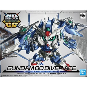 Bandai Gunpla Super Deformed SD Cross Silhouette Gundam OO Diver Ace