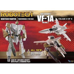 Toynami Robotech Veritech Fighter Volume 2 VF-1A Ben Dixon 1/100