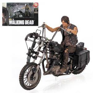Neca The Walking Dead Daryl Dixon and Motorcycle Deluxe Box Set