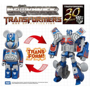 Hasbro X BearBrick Transformers Age of Exctinction OPTIMUS PRIME