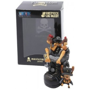 Megahouse One Piece Luffy Log McCoy 01 Mastermind Japan(Aperto)