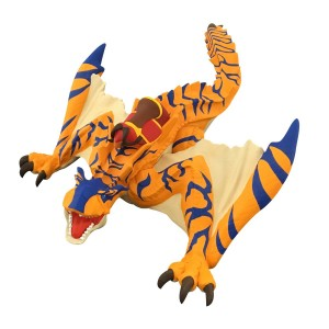 Bandai Monster Hunter Ride On Sofubi Soft Vinyl Series Digarex
