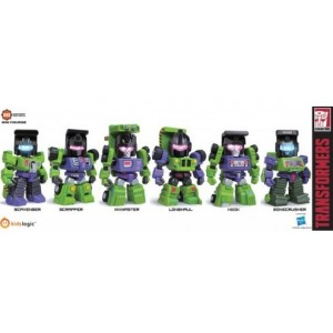 Kidslogic Kids Nation TF04 Transformers Constructicons: Scavanger, Scrapper, Mixmaster, Longhaul, Hook, Bonecrusher