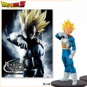 Banpresto Dragonball Z Resolution Of Soldier Vegeta Super Saiyan