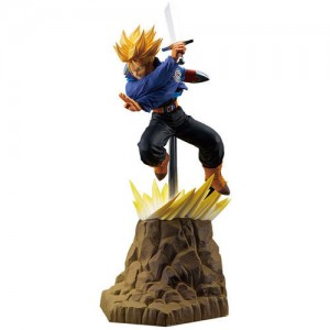 Dragonball Z Absolute Perfection Figure Goku + Vegeta + Trunks SSJ