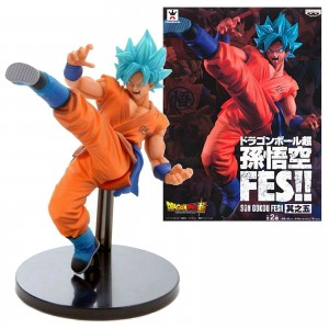 Banpresto Dragonball Super FES Goku God SUper Saiyan God
