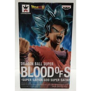 Banpresto Dragonball Super Blood of Saiyan Goku God Super Saiyan God