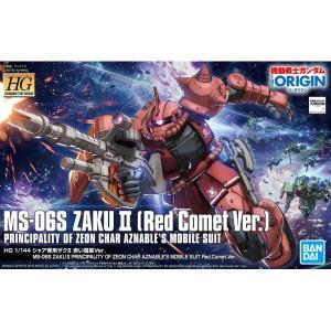 HGUC 1/144 MS-06S Zaku II Red Comet 'Origin'