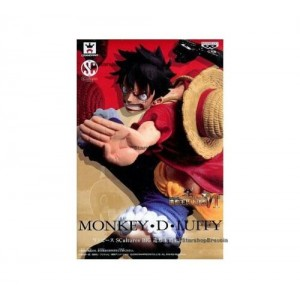 Banpresto One Piece Scultures Monkey D Luffy