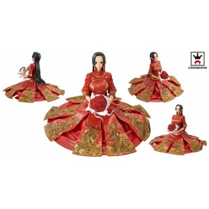 Banpresto One Piece Boa Hancock Chinese Wedding Dress