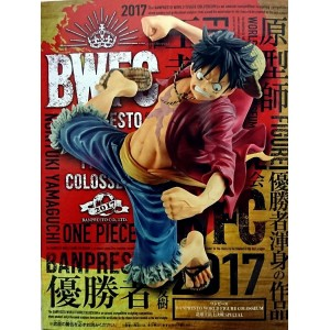 "Banpresto One Piece BWFC Luffy ""Champion of The Contest 2017"""