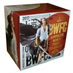 Banpresto One Piece BWFC Shanks