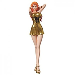 Banpresto One Piece Glitter & Glamours Nami Gold Dress