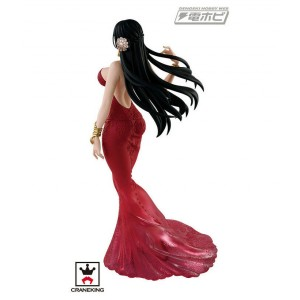 One Piece Lady Edge Wedding Boa Hancock Red Dress