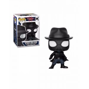 Funko POP Marvel Spider-Man Into The Spiderverse 406 Spider-Man Noir