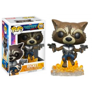 Funko POP Marvel Guardians Of The Galaxy Vol.2 201 Rocket
