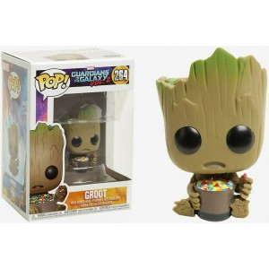 Funko POP Marvel Guardians Of The Galaxy Vol.2 264 Baby Groot With Candy Bowl EX