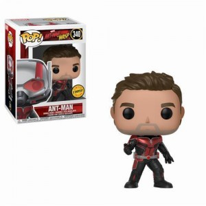 "Funko POP Marvel Ant-Man & Wasp 340 Ant-Man ""Chase"""