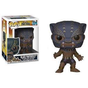 "Funko POP Marvel Black Panther 274 Black Panther ""Warrior Falls"""