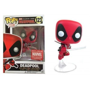 Funko POP Marvel Deadpool 123 Deadpool Exclusive