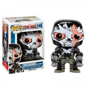 Funko POP Marvel Civil War 140 Crossbones Exclusive