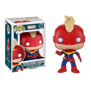 Funko POP Marvel 154 Captain Marvel Masked