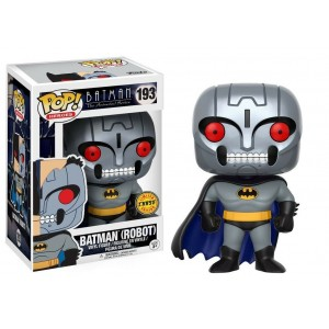 "Funko POP Heroes Batman The Animated Series 193 Batman(Robot) ""Chase"""