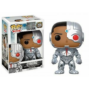 Funko POP Heroes Justice League 209 Cyborg
