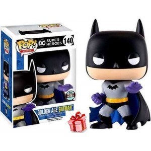 Funko POP Heroes DC Super Heroes 140 Golden Age Batman Exclusive