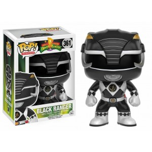 Funko POP Television Power Ranger 361 Black Ranger