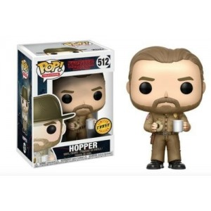 "Funko POP Television Stranger Things 512 Hopper ""Chase"""