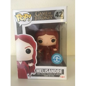 Funko POP Television Game Of Thrones 42 Melisandre Traslucent Exclusive