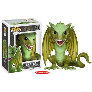 "Funko POP Television Game Of Thrones 47 Rhaegal ""Over Size"""