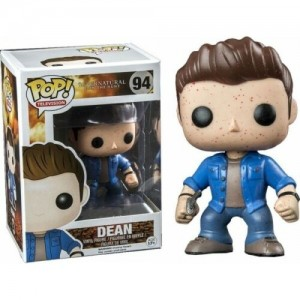 Funko POP Television Supernatural 94 Dean Metallic & Blooded Exclusive