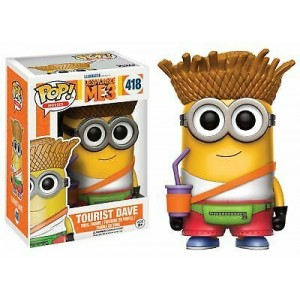 Funko POP Movies Despicable Me 3 418 Tourist Dave